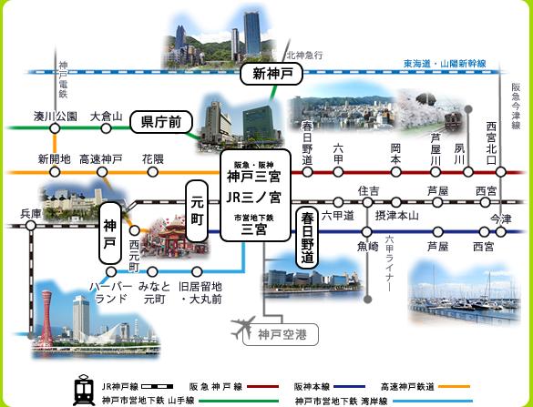 神戸エリア エステム マンスリーマンション
