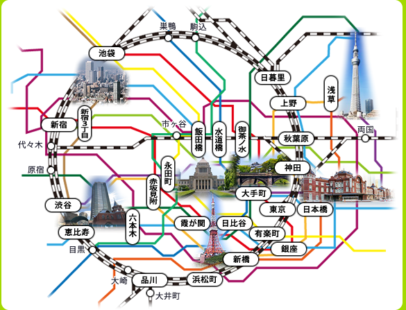 東京エリア エステム マンスリーマンション